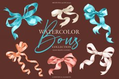 Watercolor bows collection Product Image 2