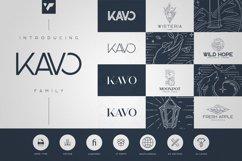 Kavo Family - 17 fonts 24 logos Product Image 1