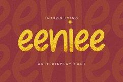 Web Font Eeniee Font Product Image 1