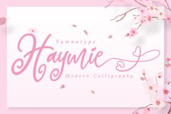 Hayme Script Product Image 1
