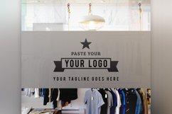 Store Front Vinyl Logo Mockup  Product Image 4