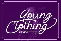 River Young | Monoline Script Font Product Image 5