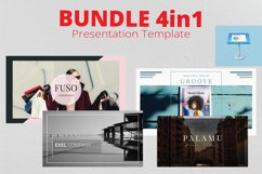 4in1 Bundle Keynote Template Product Image 1