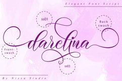 Darelina Script Product Image 10