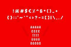Red Storm | Special Designer Font Product Image 4