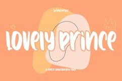 Web Font Lovely Prince - Lovely Handwritten Font Product Image 1