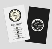 Retro Vertical Business Visitig Cards Product Image 3
