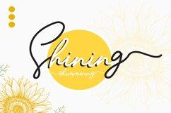 Sunflower   Freehand Signature Font Product Image 4