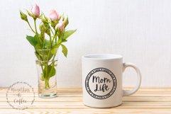 Mom Life Round SVG Product Image 3