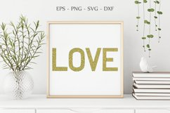 Love Print, Mother's Day Svg, Valentine Clipart, Love Svg Product Image 3