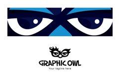 Owl Graphics - Creative Bold Smart Bird Stock Logo Template Product Image 3