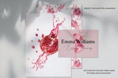 Pomegranate Fresh Watercolor Set Product Image 4
