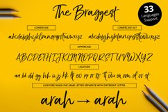 The Braggest + Webfont Product Image 5
