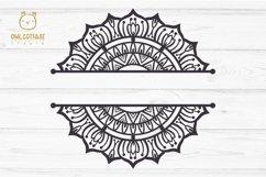 Mandala Bundle SVG, Yoga Mandala Cutting Files, Indian Round Product Image 6