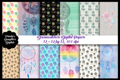 Dreamcatchers Digital Papers Product Image 1