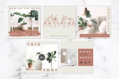 Instagram Post Templates for Canva | Beige & Rust Product Image 4