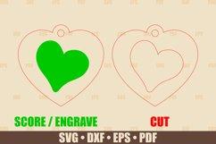 Love Keychains SVG Bundle Glowforge, Key Fob SVG design Product Image 4