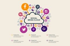Social Media Infographic Elements Product Image 3