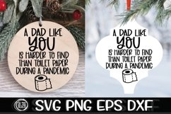 A Dad Like You Harder To Find Toilet Paper Pandemic SVG Product Image 1