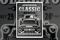 Classic Car Show Flyer Product Image 2