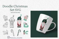 Doodle linear SVG graphics & Cricut files Bundle Product Image 2