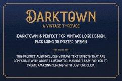 Darktown Vintage Font Product Image 3