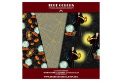 Halloween Digital Paper Pack Halloween Witch Product Image 2