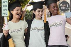 Grad Squad SVG | Graduation | Senior Product Image 1