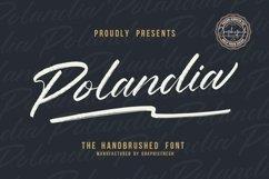 Polandia - The Handbrushed Font Product Image 1
