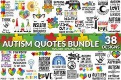 Autism Quotes svg bundle Product Image 1