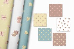 Cute kitten clipart and patterns Product Image 4