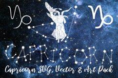 Capricorn Zodiac, Constellation, Horoscope, Celestial Pack Product Image 1
