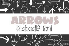 Arrows - A Doodle Font Product Image 1