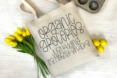 Web Font Gentle Breeze - A Quirky Hand-Lettered Font Product Image 3