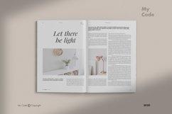 Minimalist Magazine Mockup Product Image 4