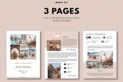 Media Kit Template, 3 Pages, Canva Product Image 3