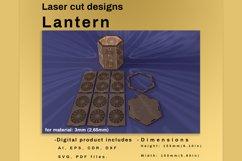 LANTERN - laser cut file Product Image 5