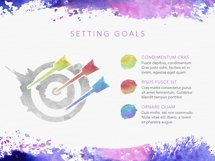 Watercolor Keynote Template Product Image 3