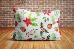 Watercolor 10 Christmas Patterns Product Image 6
