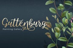 Hallo Carthy | A Lovely Calligraphy Font Product Image 6