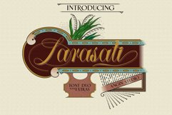 Larasati font duo with extras Product Image 1