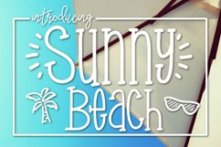 Sunny Beach a Handwritten Typeface Product Image 1