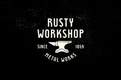 Rustyhead Typeface   Font Product Image 5