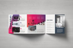 Gradient Square Trifold Template Product Image 2