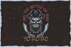 Yo-ho-ho. Vintage layered label font Product Image 4