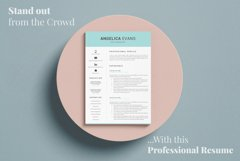 Modern Resume Template and Cover Letter. Fully editable CV Product Image 17