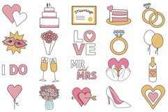 Wedding Day Clipart Product Image 2