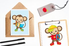Monkey Students graphics and illustrations Product Image 4