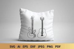 Guitar SVG | Music SVG Product Image 5