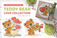 Teddy bear. Love collection.   Product Image 1